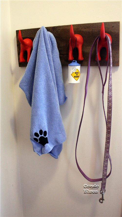 Condo Blues Diy Dog Tail Coat Rack
