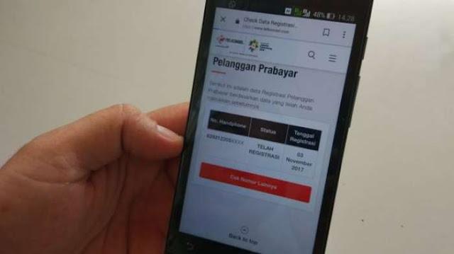Bocor, 50 Nomor NIK dan KK Disalahgunakan, Pemerintah Digugat Soal Registrasi Kartu Prabayar