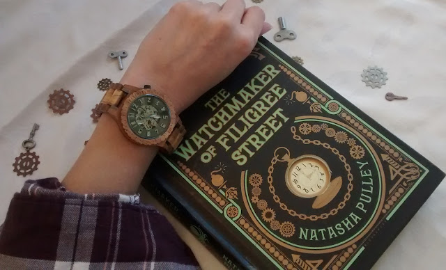JORD Watch and The Watchmake of Filigree Street by Natasha Pulley
