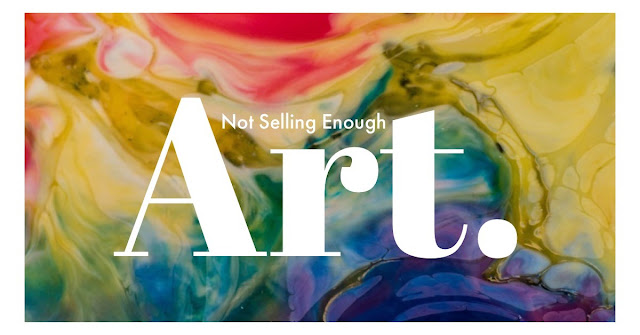 not selling enough art, marketing your art, how to sell art,