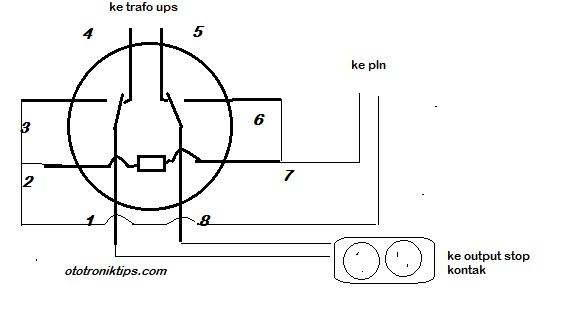 Cara memasang relay 8 kaki untuk ups ototroniktips berubah yaitu akan terhubung dengan 3 begitupun 8 ia akan berpindah dari 5 ke enam untuk penggunaan ups cara menghubungkan kaki kakinya adalah ccuart Choice Image