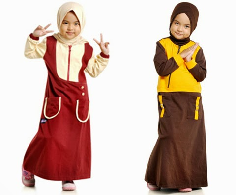 model baju muslim anak anak