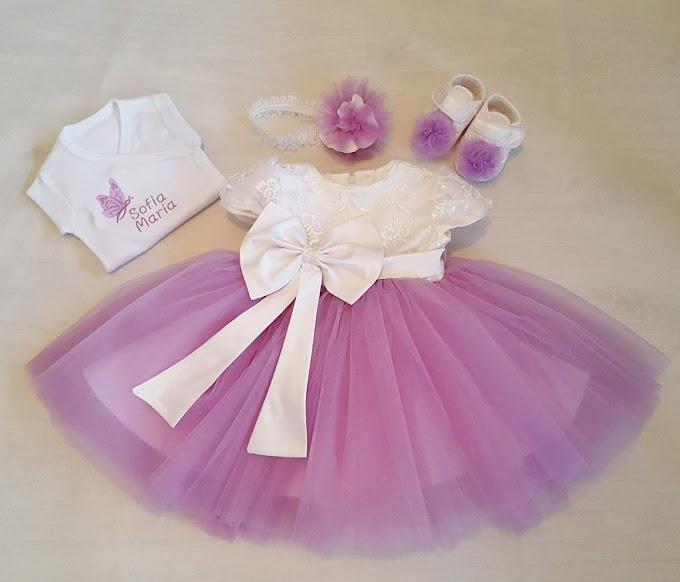 Am ales rochita de vis pentru botezul fetitei mele