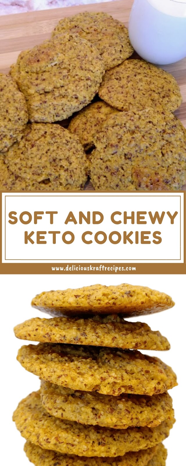 SOFT AND CHEWY KETO COOKIES
