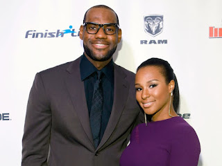 Lebron James Talks about his wife