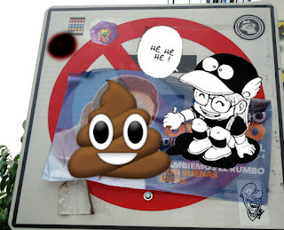 en las calles street art vs propaganda política