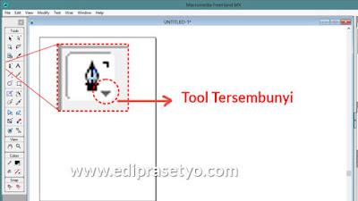 Cara mengaktifkan tool yang tersembunyi di freehand MX