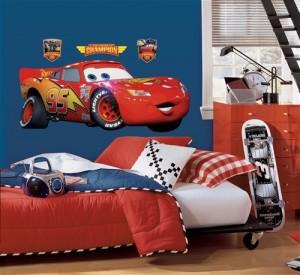 Déco chambre enfant McQueen
