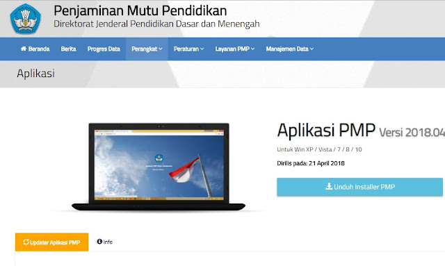 Download Aplikasi PMP 2018.04 Link Alternatif
