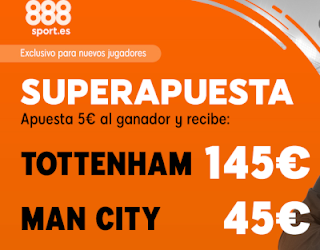 888sport superapuesta champions Tottenham vs City 9 abril 2019