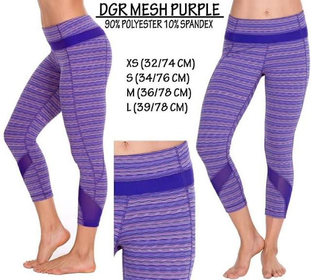 baju online 90 DEGREE Mesh Purple