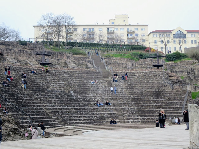 Things to do in Lyon France in 3 days: Lyon's Roman Amphitheatre