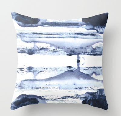 jennifer latimer design indigo tie dye fabric 2016 navy white pillow like similar to style eskayel sale affordable option
