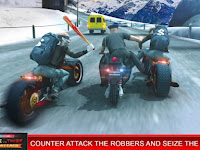 Police vs Thief MotoAttack Mod Apk v1.0 Unlimited Money for Android