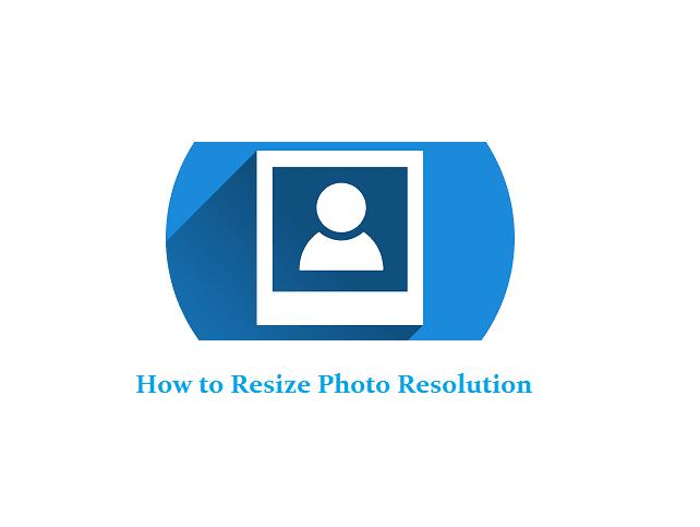 Cara mengecilkan ukuran resolusi gambar
