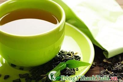 cách trị viêm họng đơn giản bằng trà xanh