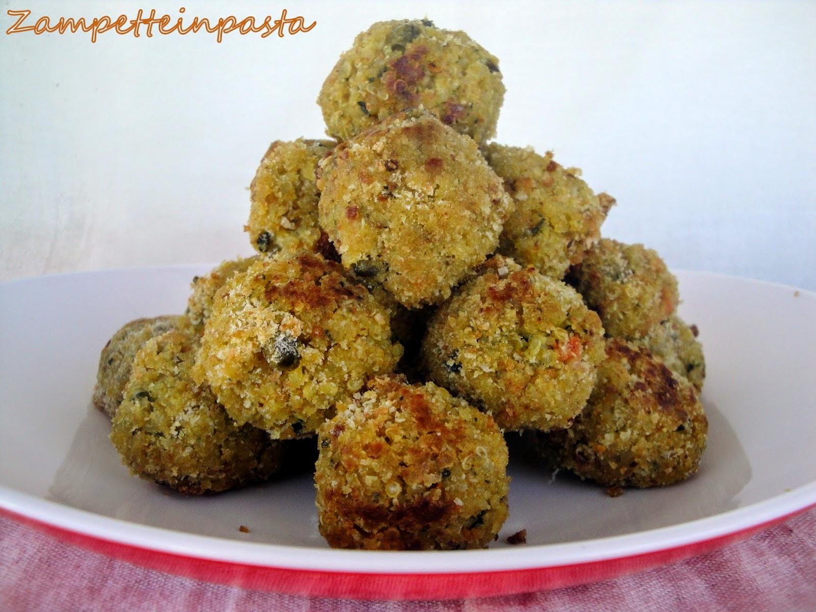 Polpette di quinoa e verdure - Ricette con la quinoa