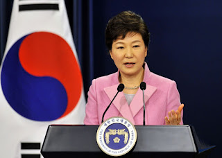 South Korea in shaky transition