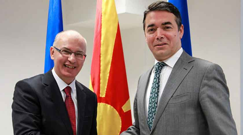 New Slovakian Ambassador to Macedonia presents copy of his credentials to FM Dimitrov