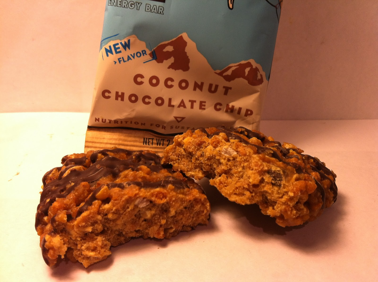 3d8da6564 Crazy Food Dude  Review  CLIF Coconut Chocolate Chip Bar
