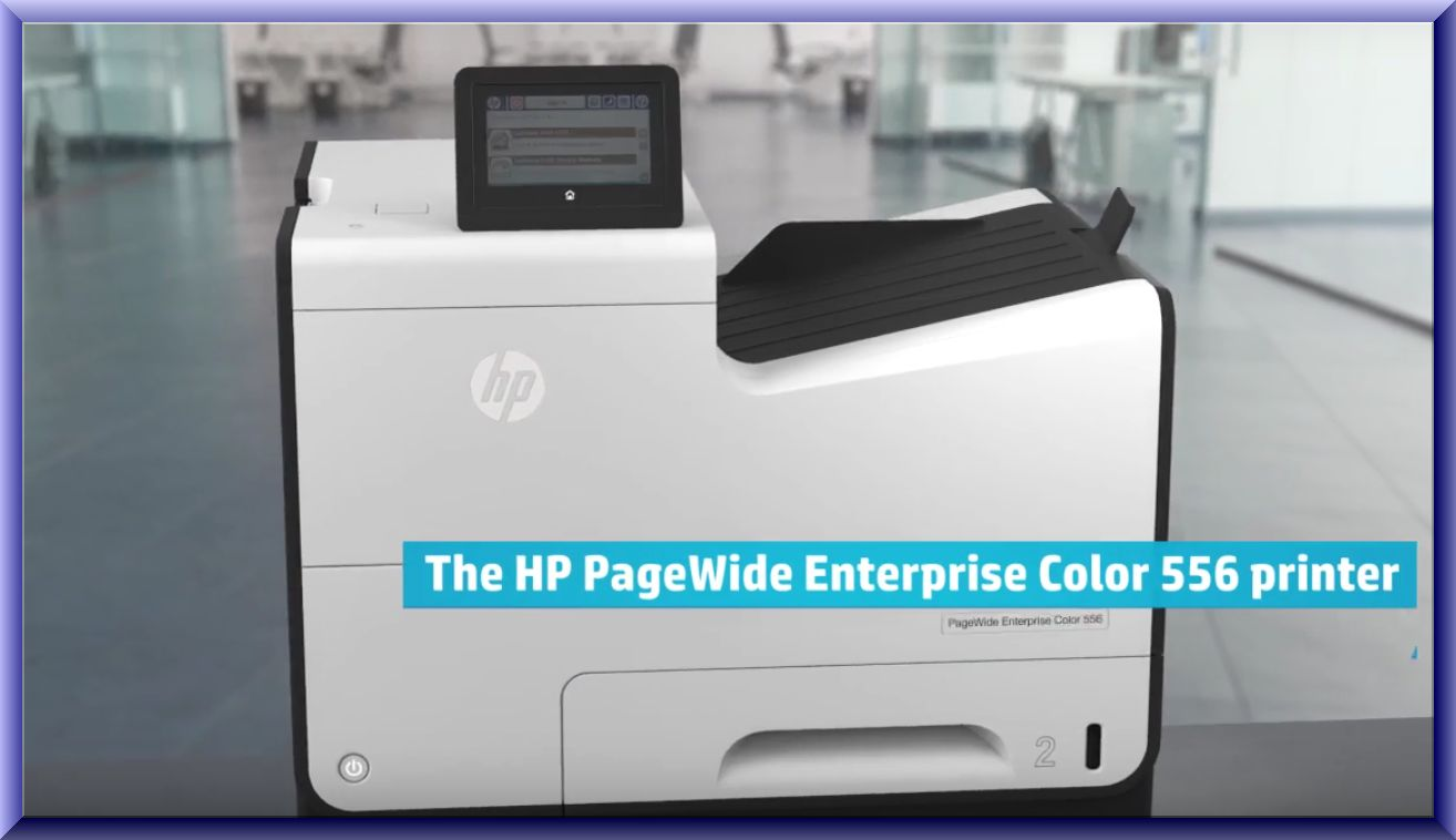 HP PageWide Enterprise Color 556 Wireless Setup Guide ~ Wireless ...