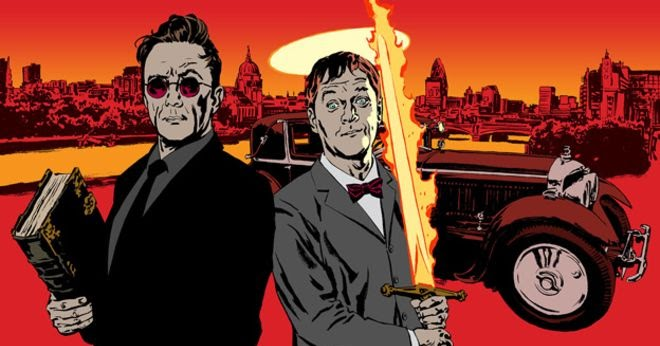 Neil Gaiman to write GOOD OMENS TV series