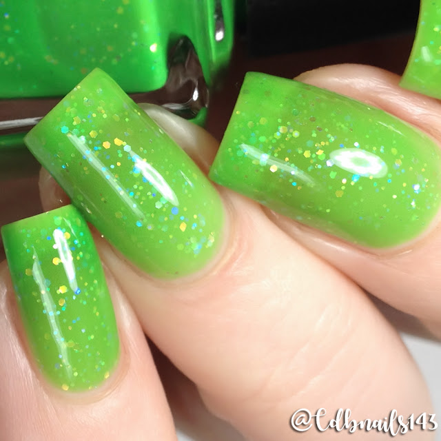 Night Owl Lacquer-Feelin' Lucky
