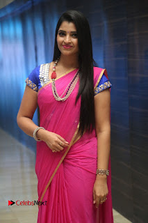 Anchor Shyamala Pictures in Pink Saree at Nandini Nursing Home Audio Launch  0075.JPG