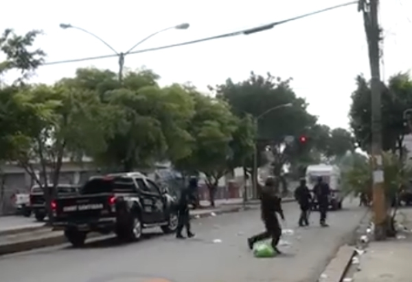 Video: Intenso tiroteo en medio de entierro de joven asesinado en SFM