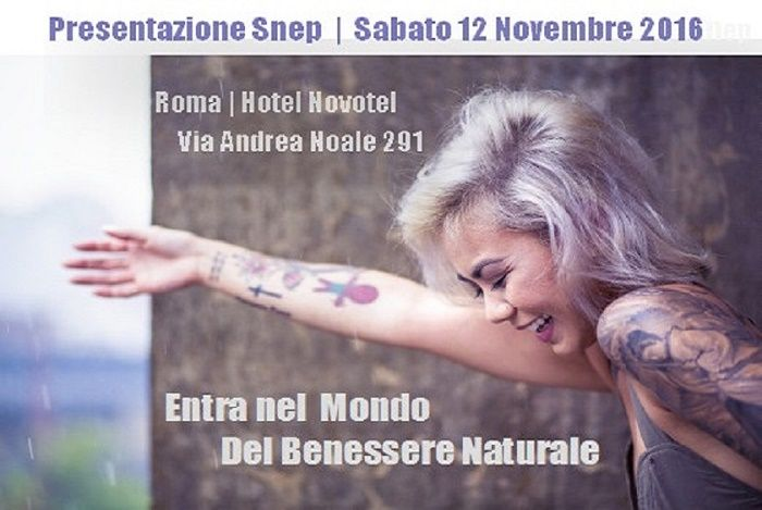 Snep Evento Roma 12 Novembre