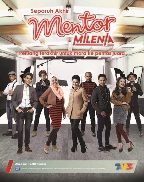 konsert mentor milenia 2016 separuh akhir battle 5, juara pemenang mingguan mentor milenia separuh akhir minggu 5, gambar mentor milenia 2016 separuh akhir