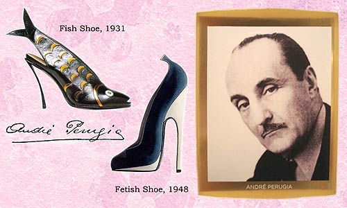 andre perugia high heels