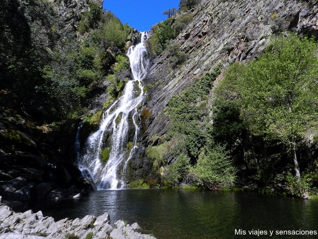 Cascada del Chorrituelo, Ovejuela, Las Hurdes