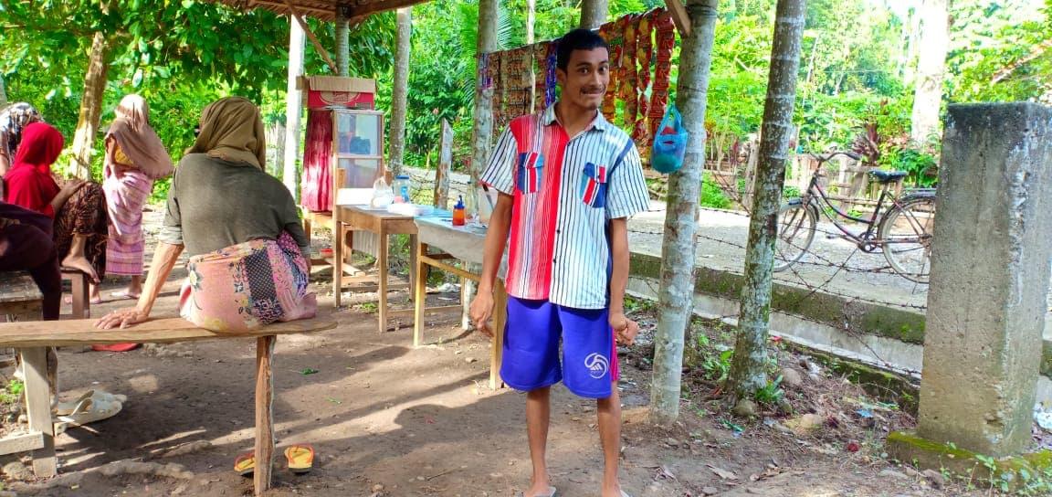 Bantu Modal Usaha untuk Ridwan Disabilitas yang menjadi tulang punggung keluarga