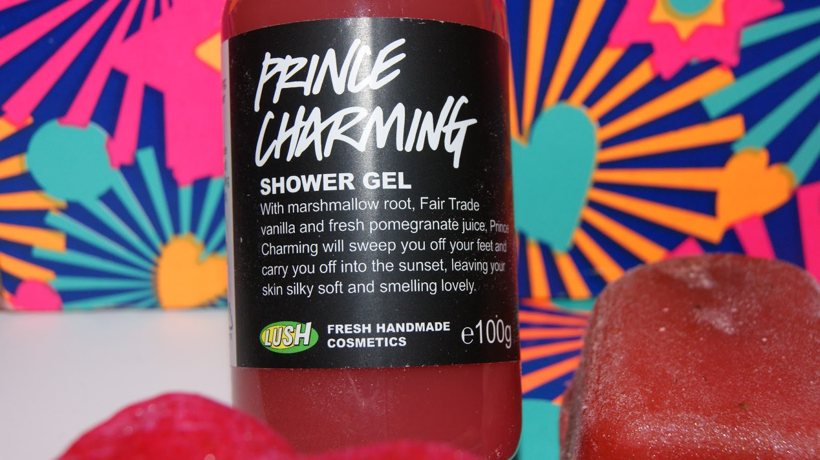 Lush Prince Charming Shower Gel Bottle