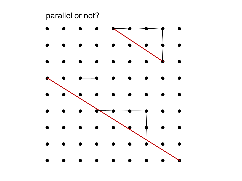 MEDIAN Don Steward mathematics teaching: grid geometry