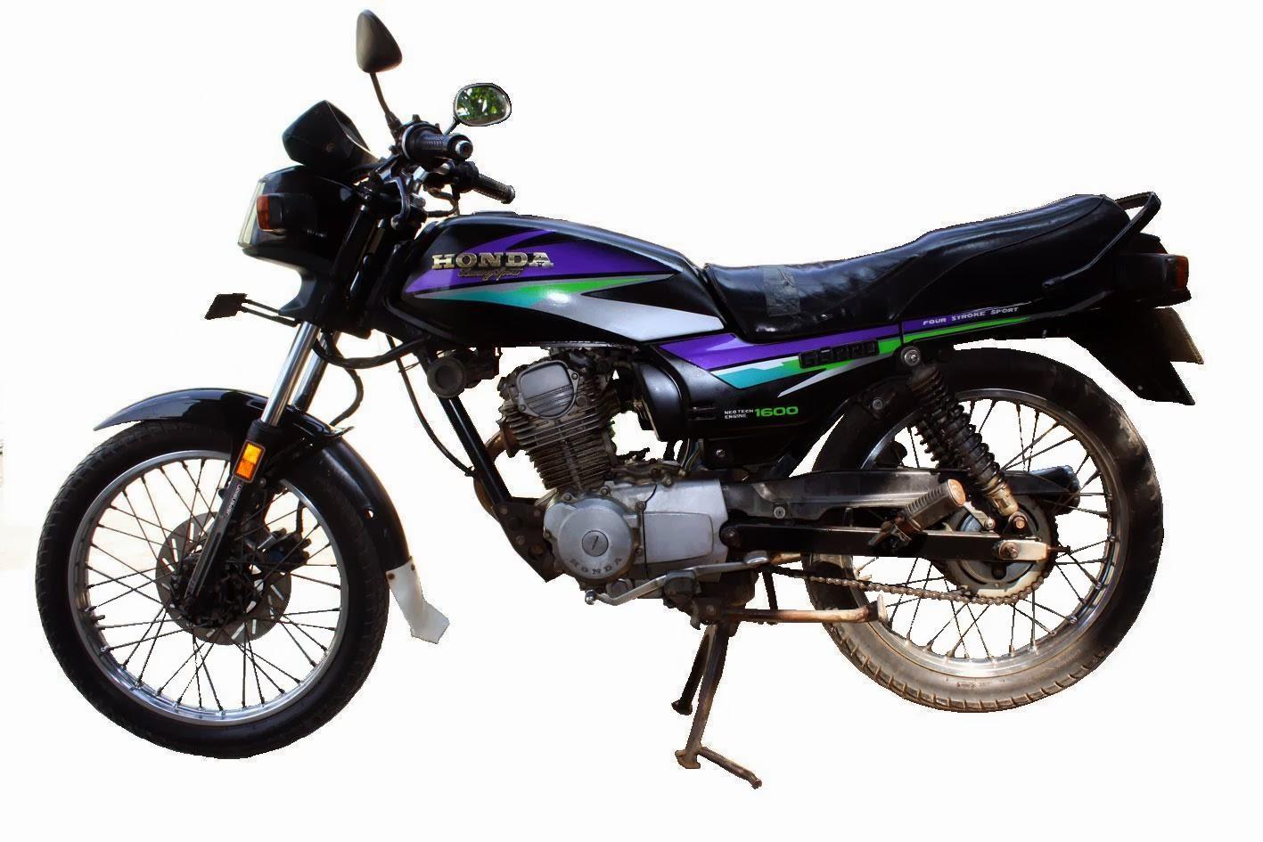 Sejarah Honda Gl Pro Black Engine