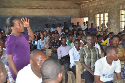 Ganze Professionals who dropped out of school due to lack of school fees. PHOTO | Kazungu Samuel