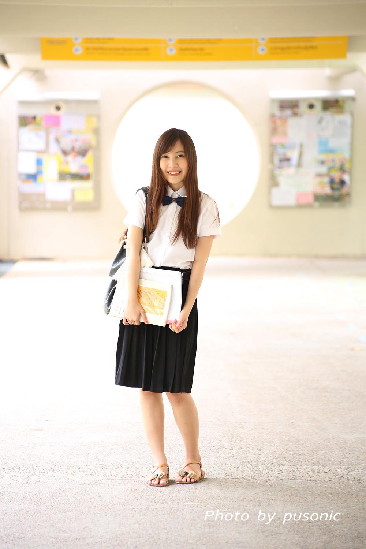 Pretty Girls All Around The World Thailand Sexy School Uniform-7680