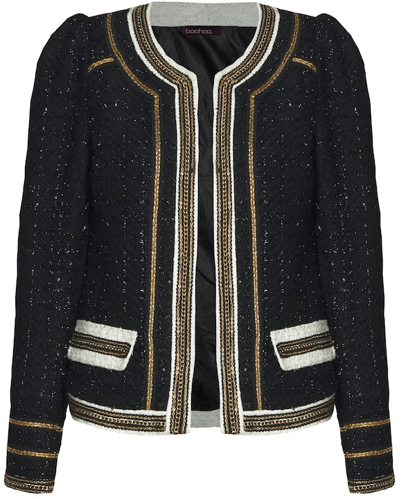 ac7cfeb571f9 I Love  Boohoo s £45 Chanel-Style Trophy Jacket - Coco s Tea Party
