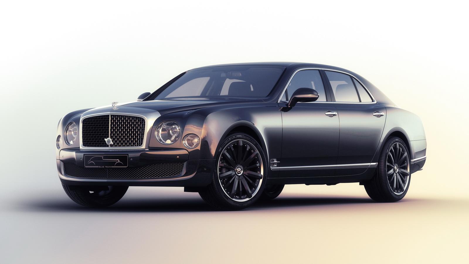 Aj95 Bentley Blue Drive Car: Bentley Reveals Mulsanne Speed 'Blue Train' Limited
