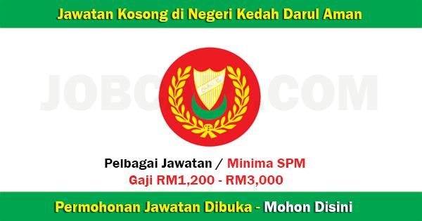 Senarai Jawatan di Kedah