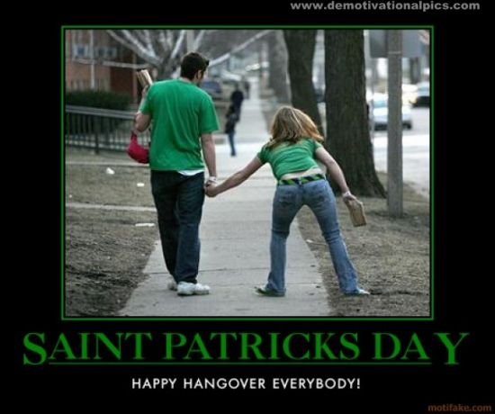 Funny Memes For St Patricks Day : Speak of the devil curse grumpy leprechaun