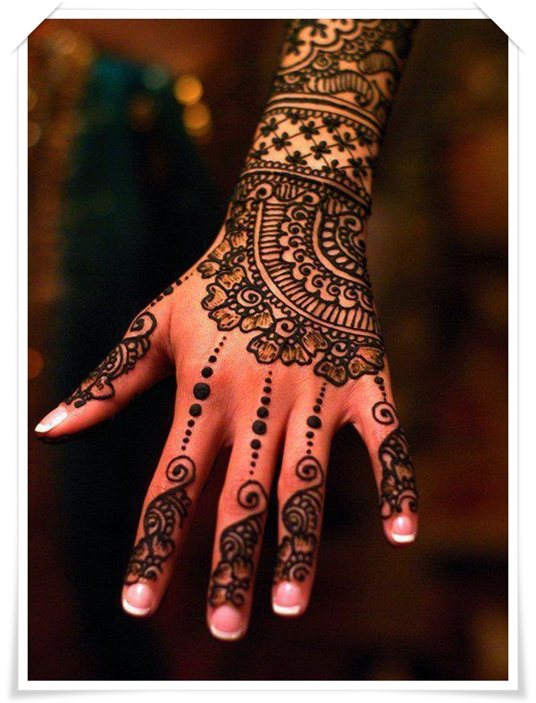 35 Best Mehandi Designs For Back Side Of The Hand