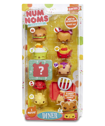 Each Num Nom Character Is Full Of Surprises.The Nums Are The Outer Rubbery  Part That Are Scented And Soft And The Noms Are The Motorized Characters  That Can ...