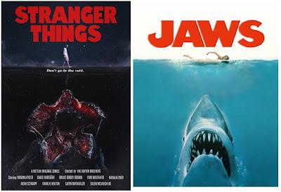 Pósters de películas Stranger Things - Tiburón