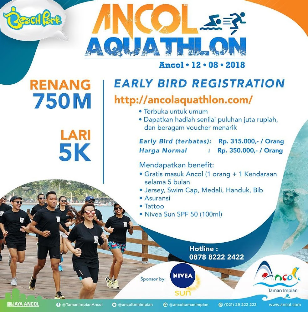 Ancol Aquathlon • 2018