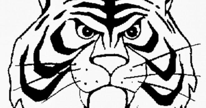 disegni da colorare uomo tigre