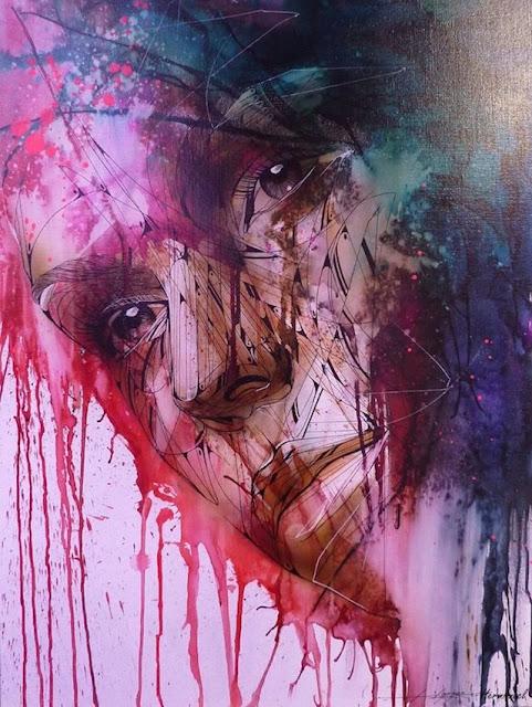 Grafiti Terbaik 2015 - Hancur, Grafiti darah, bloode grafiti