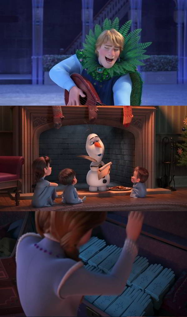Olaf: Otra aventura congelada de Frozen (2017) HD 1080p Latino
